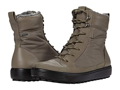 ECCO Soft 7 Tred Winter Boot (Dark Clay/Warm Grey/Warm Grey) Women