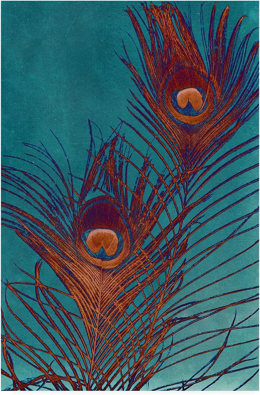 Trademark Fine Art Luxe Plumes II by Jason Johnson, 12x19