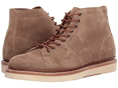 Frye Bryant Lace-Up (Dark Ash Oiled Suede) Men