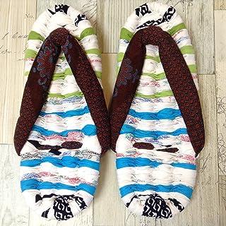 Jam's Ukulele GYE-025-65/ 布ぞうり(25cm) 布ぞうり 布草履 スリッパ 部屋履き 男女兼用 ハンドメイド 手作り プレゼント