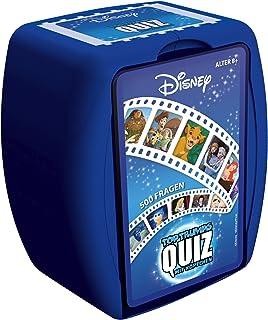 Winning Moves- Quiz-Disney Classic Juego de Cartas, Color