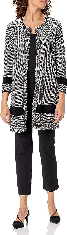 Kasper Women's Fringe Detail Sweater