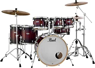 Pearl Drum Set, Gloss Deep Red Burst, inch (DMP927SPC261)