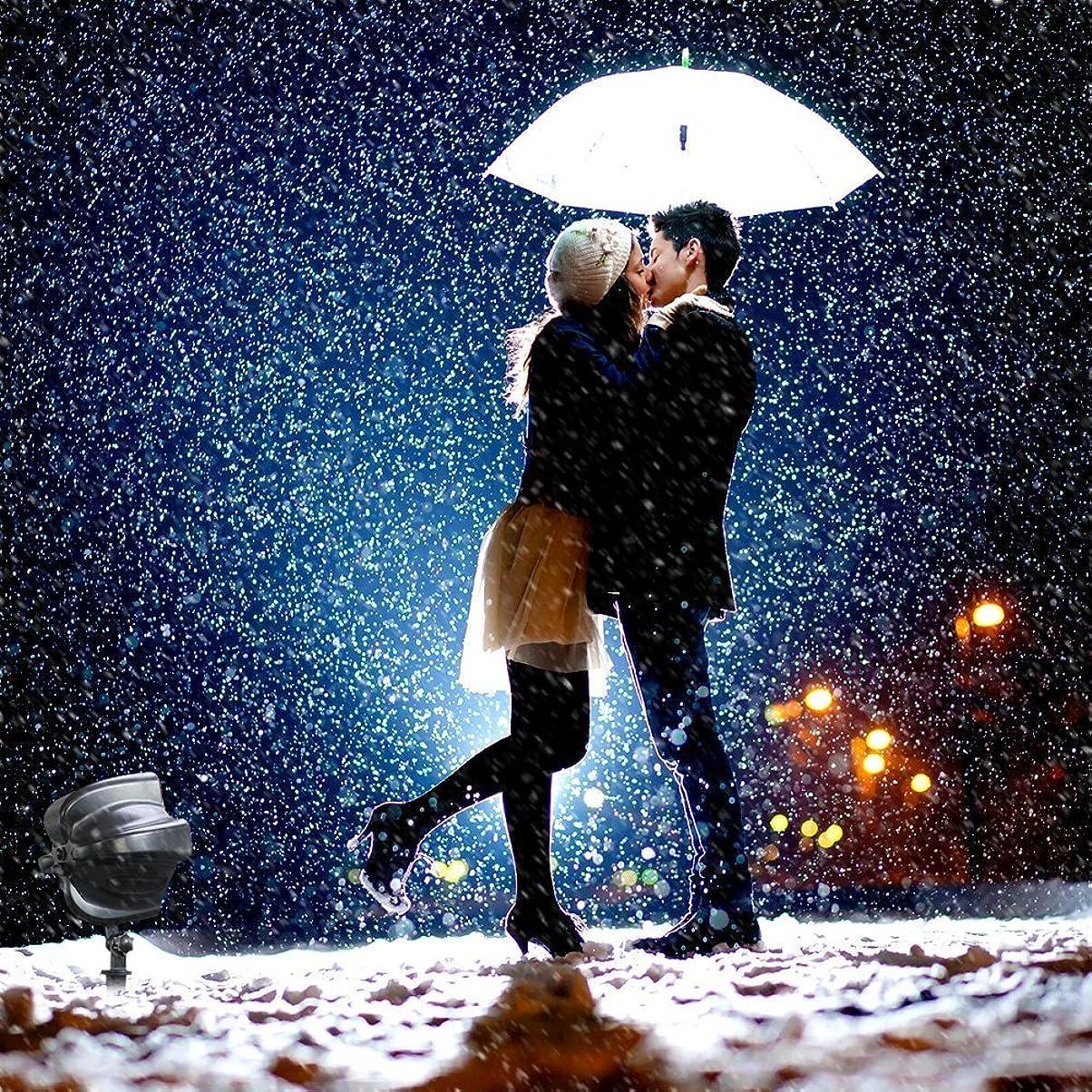 楽な手数料最後の雪投影クリスマスライト バレンタインデー ロマンチック スポットライト防水 リモコン 屋外 LEDイルミネーション パーティー /KTV//誕生日/ステージ/ 結婚式 イベント/バレンタインデー