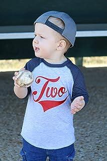 Boys 2nd Birthday Baseball Shirt