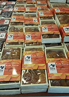 Turkish Dried Apricots Gift Package Organic Ottoman 250 gr