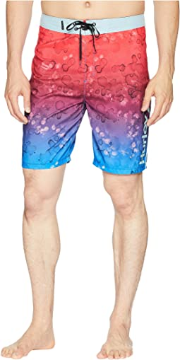 "Splatter Grain 20"" Boardshorts"