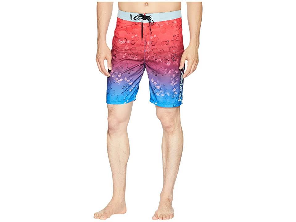 Hurley Splatter Grain 20 Boardshorts (Photo Blue) Men