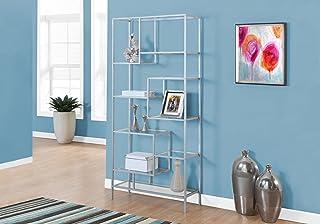 02bb47705152 Amazon.com: Silver - Bookcases / Home Office Furniture: Home & Kitchen
