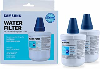 Samsung DA29-0000F Genuine DA29-00003G Aqua-Pure Plus Refrigerator Water Filter, 2-Pack