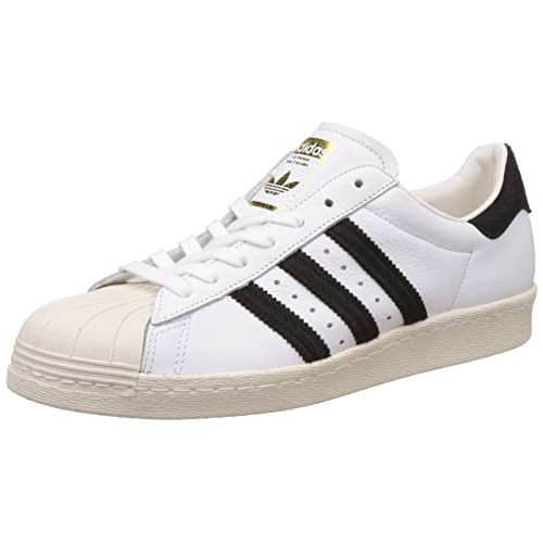 Sneakers Adidas Men's Leather Superstar 80s Originals Cwv8Rq40x