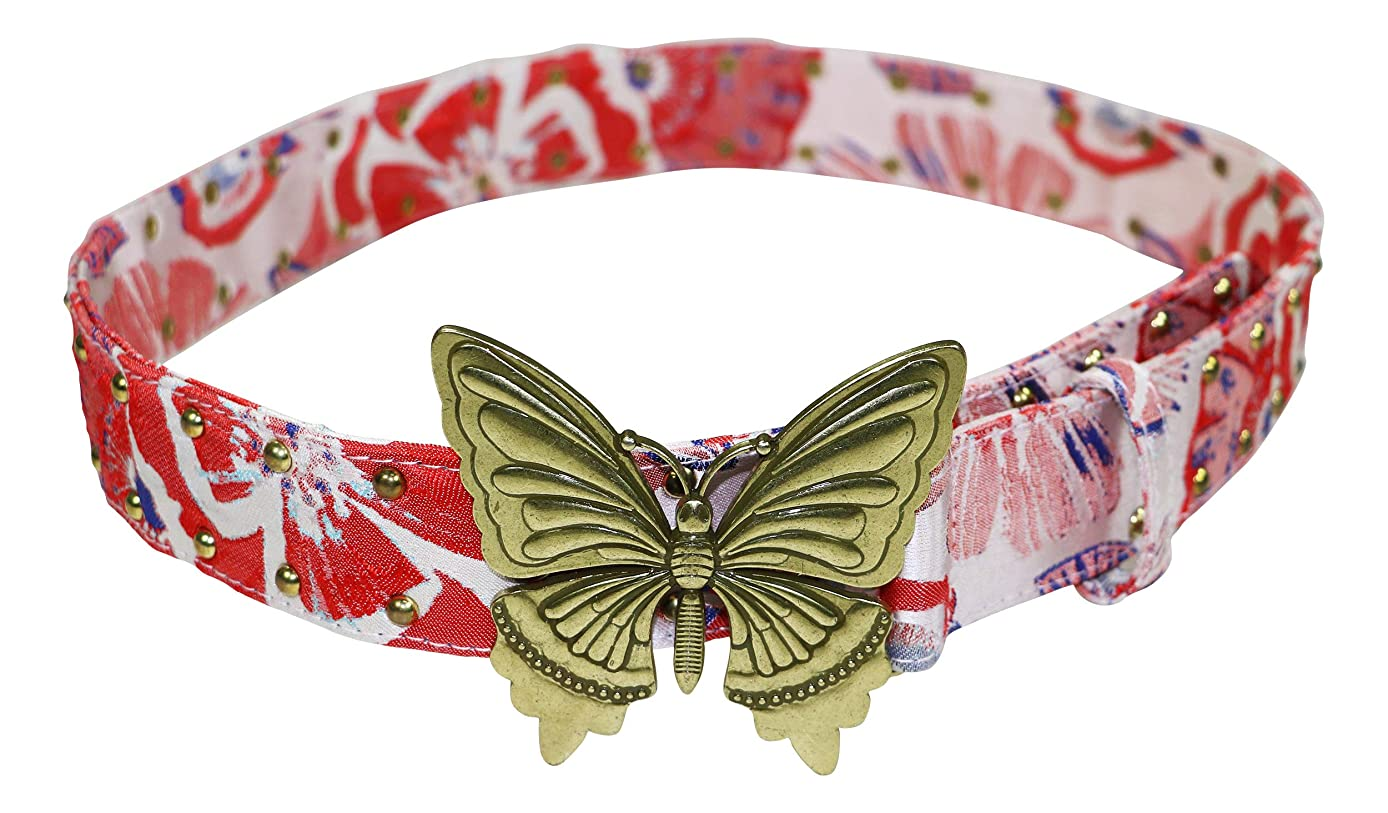 Steve Madden Women's Butterfly-Plaque Belt