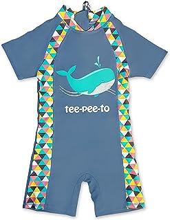 TEEPEETO Kids Whale One Piece UVP50+ Swimwear (4 Years)