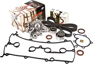 Evergreen TBK228VC Fits Mazda Protege FS 2.0L DOHC Timing Belt Kit Valve Cover Gasket GMB Water Pump