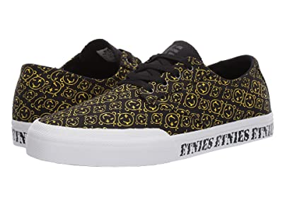 etnies Jameson Vulc LS (Black/Print) Men