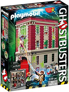 Playmobil Ghostbusters: Cuartel Parque de Bomberos