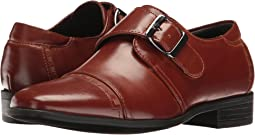Macmillian - Cap Toe Monk Strap (Little Kid/Big Kid)