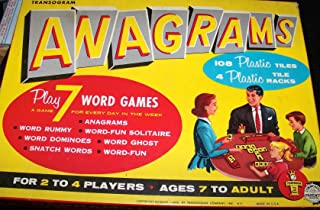 Best vintage anagrams game Reviews