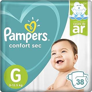 Fralda Pampers Confort Sec 38 Unidades, G