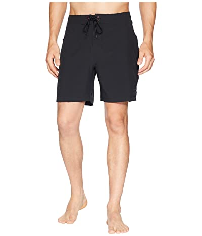 Toes on the Nose Jaws Stretch Boardshorts (Black) Men
