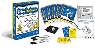 USAOPOLY Telestrations Original 6 Player | Family Board Game | A Fun Family Game for Kids and Adults | Family Game Ni...