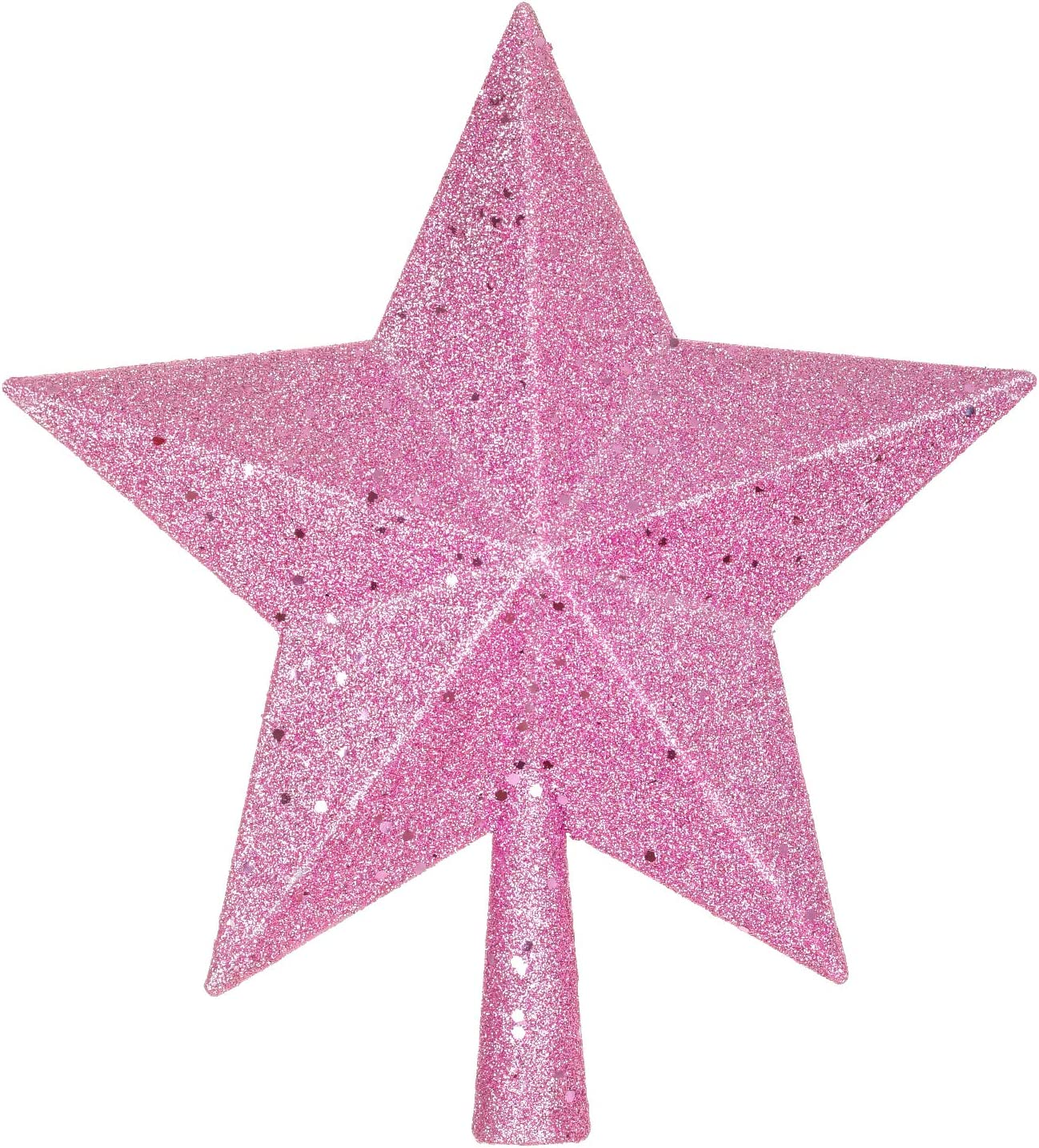 Artiflr 10Inch Christmas Popularity Tree Topper Super Special SALE held Glittered Star
