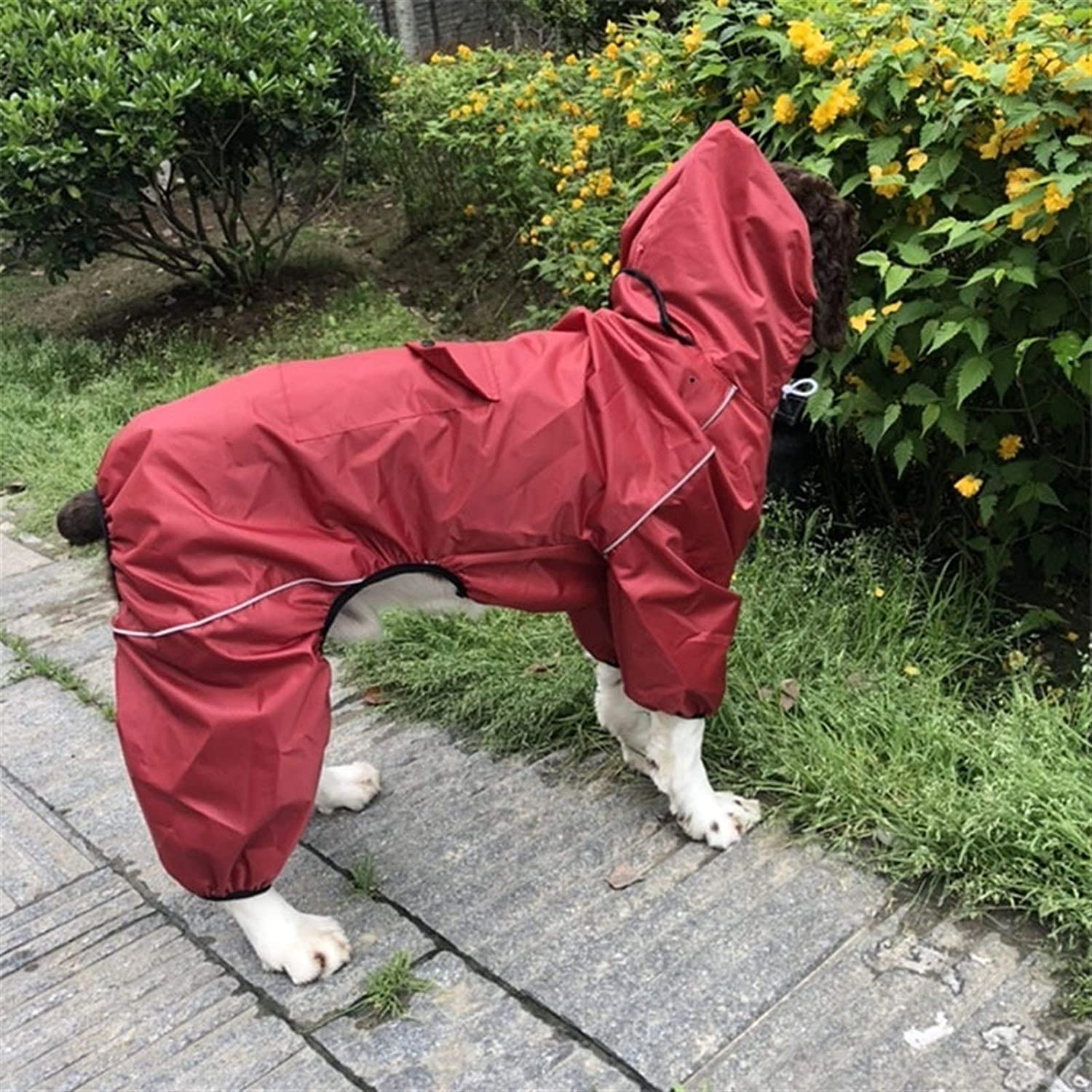 Manufacturer direct delivery YANGDONG Dog Raincoat Waterproof Jack Pet Sales results No. 1 One-Piece Hoodie