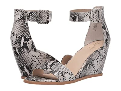 Seychelles Cloud Nine (Black/White Python) Women