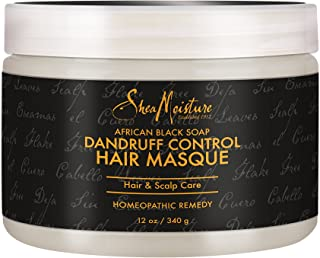 Shea Moisture African Black Soap Dandruff Control Hair Masque, 12 Ounce