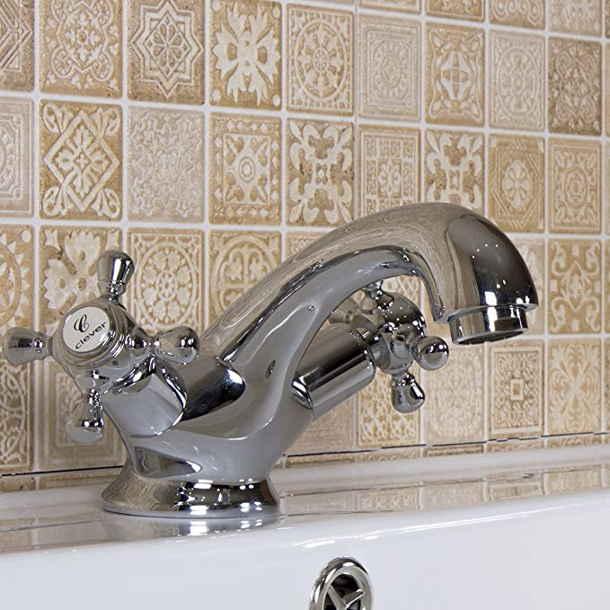Clever Antigona Chrome Robinet de douche /à double commande