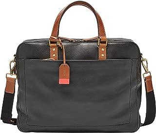 Fossil Messenger Bag, 15.5''L x 3.5''W x 12''H, Black