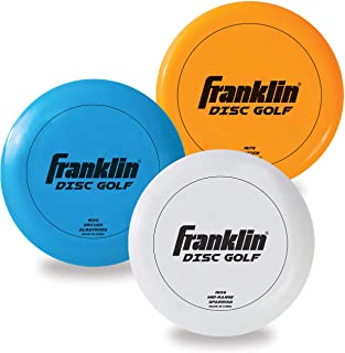 Franklin Sports Disc Golf 3 Pack