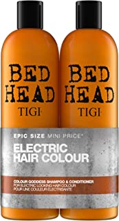 Tigi Tigi Bed Head Colour Goddess Oil Infused Shampoo + Conditioner for Coloured Hair Duo Pack, 50 Oz