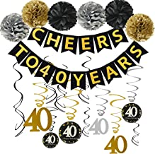 Best cheap 40th birthday party supplies Reviews