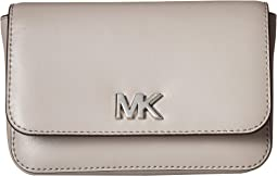 11c1f60f3642 Michael michael kors 13mm suede belt bag with heavy stitch detail ...
