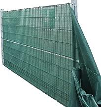 vidaXL Zaunblende Gr/ün 1,8x50 m HDPE Tennisblende Sichtschutz Windschutz Zaun