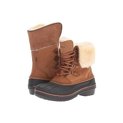 Crocs AllCast II Luxe Boot (Wheat) Women