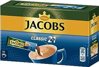 Jacobs 2-in-1 café soluble, café instantáneo, 5er Pack, 5