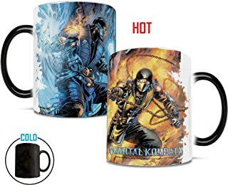 Mortal Kombat X - Fire and Ice - Morphing Mugs Heat Sensitive Mug – Ceramic Color Changing Heat Reveal Coffee Tea Mug – by Trend Setters Ltd.