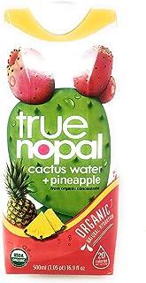 True Nopal, Water Cactus Pineapple Organic, 16.9 Fl Oz
