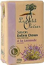 Senteurs Le Petit Olivier Extra Mild Lavender 8.8 Oz. Single Soap Bar From France