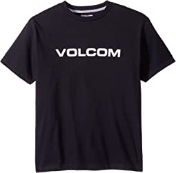 Volcom Kids Crisp Euro Short Sleeve Tee (Big Kids)