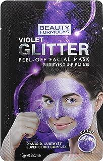 قناع الوجه جليتر فايوليت قابل للتقشير من بيوتي فورميلاز، 10 غرام