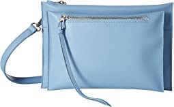 Cornflower Blue Leather