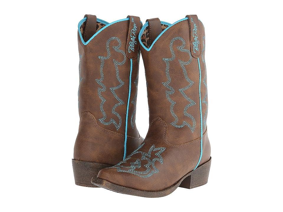 M&F Western Kids Caroline (Little Kid) (Brown) Cowboy Boots