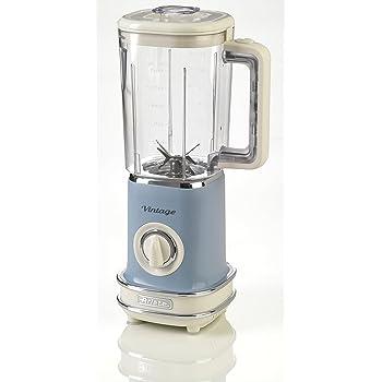 Ariete 568/05 Batidora de vaso vintage, 500 W, 1.5 litros, plástico, 2 Velocidades, Azul: Amazon.es: Hogar