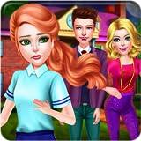 Vampiro História de amor & Segredo Romance - Um jogo de fantasia romântica para os adolescentes para descobrir um triângulo amoroso incomum