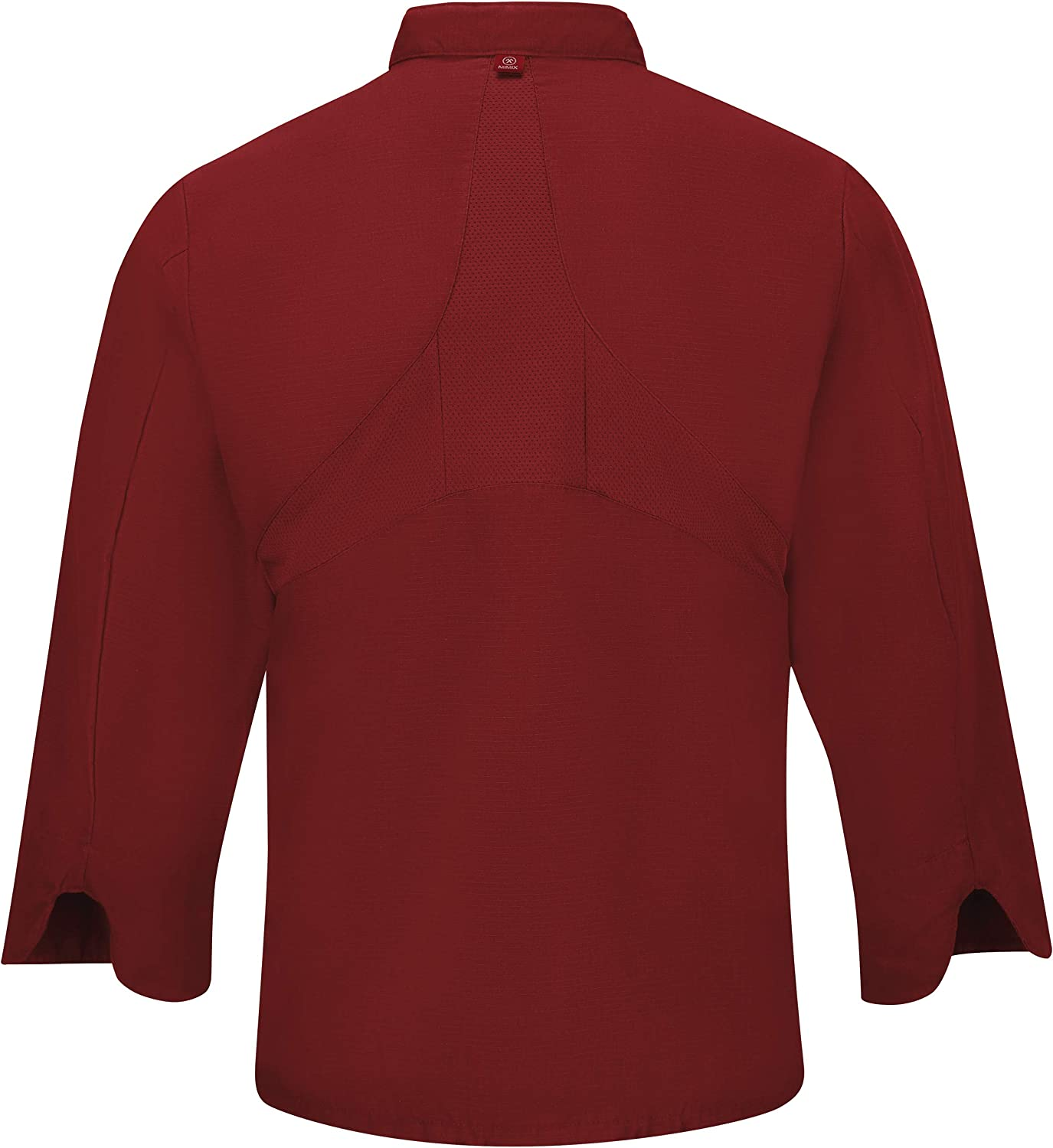 Red Kap Men's Long Sleeve Ten Button Chef Coat with Mimix and Oilblok: Clothing, Shoes & Jewelry