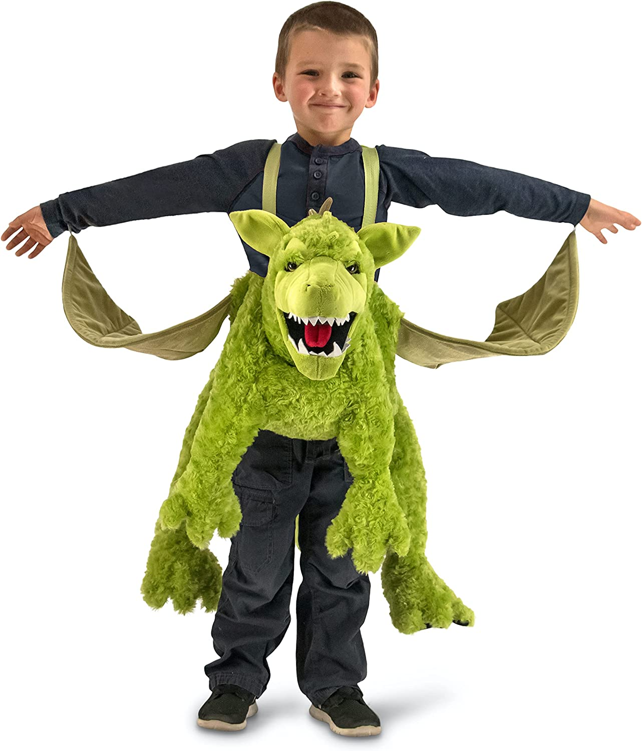 Princess Paradise Boys' Green Translated Ride-in Factory outlet Dragon