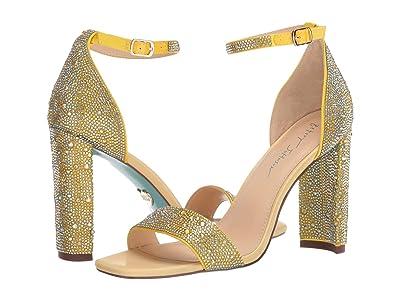 Blue by Betsey Johnson Rina (Yellow) High Heels